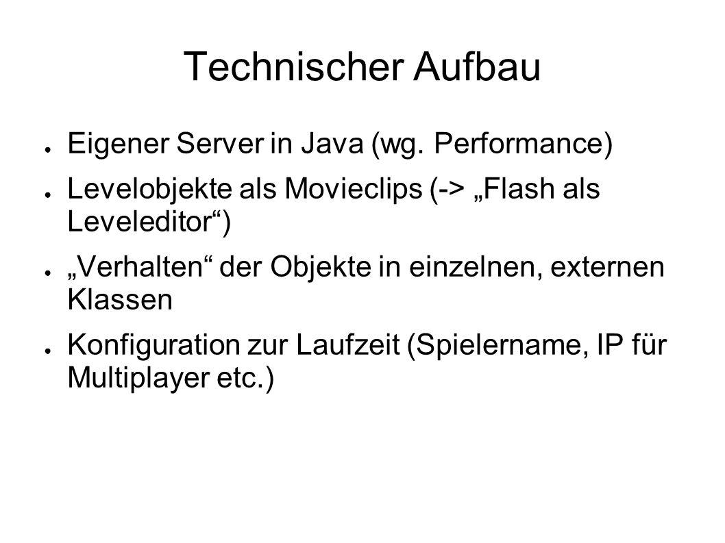 Technischer Aufbau Eigener Server in Java (wg. Performance)