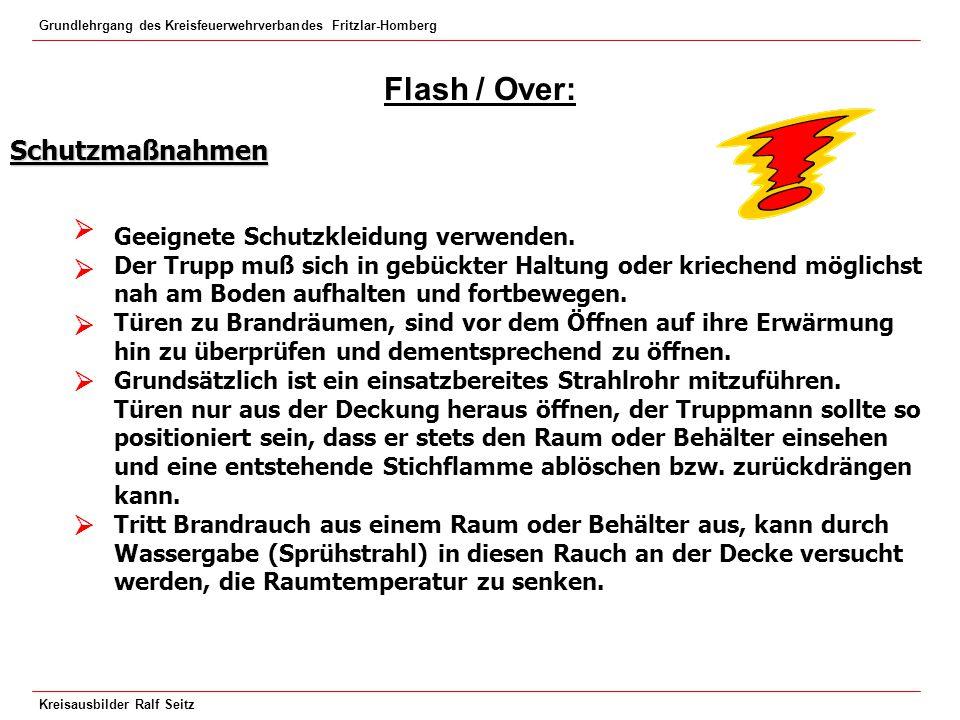 Flash / Over: Schutzmaßnahmen     