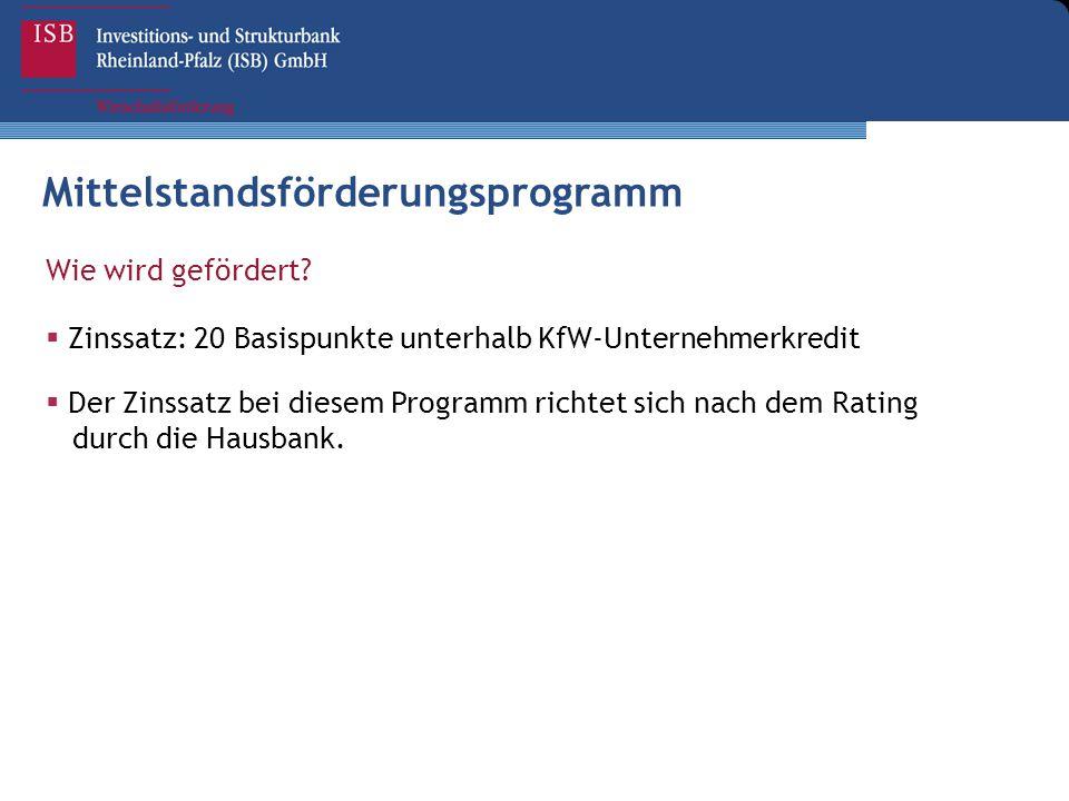 Mittelstandsförderungsprogramm