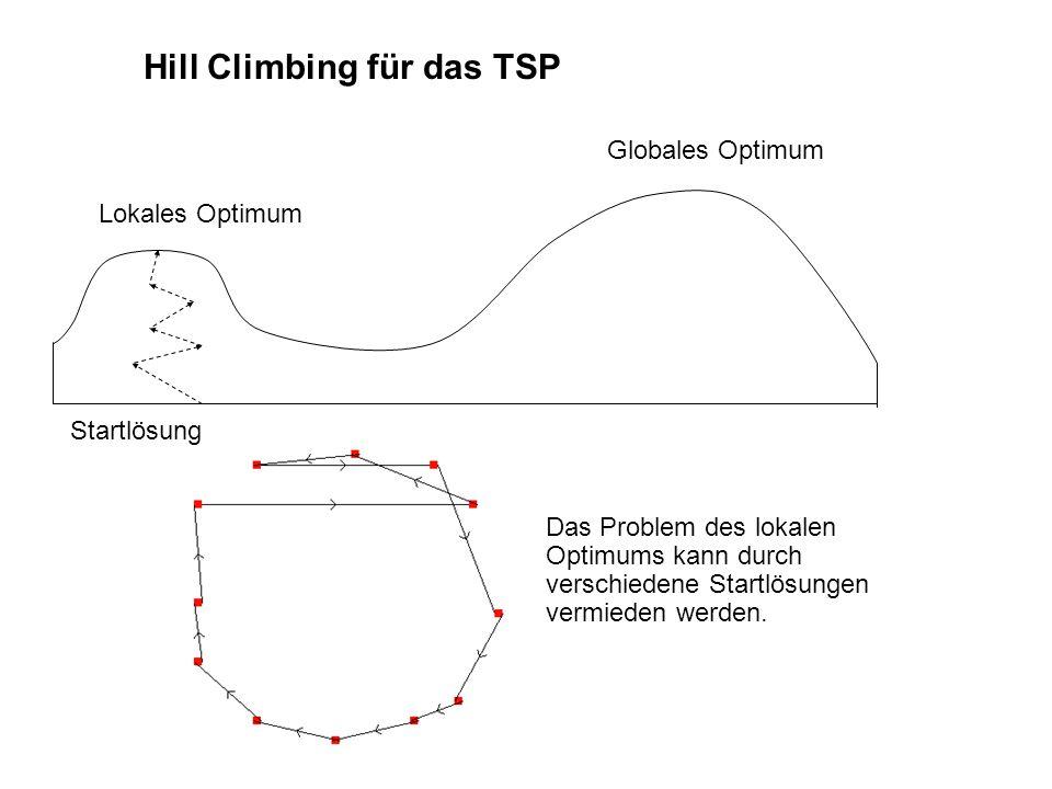 Hill Climbing für das TSP