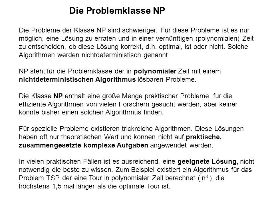 Die Problemklasse NP