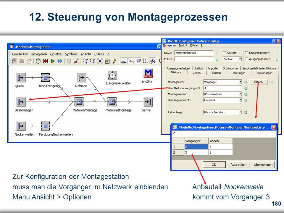 12. Steuerung von Montageprozessen