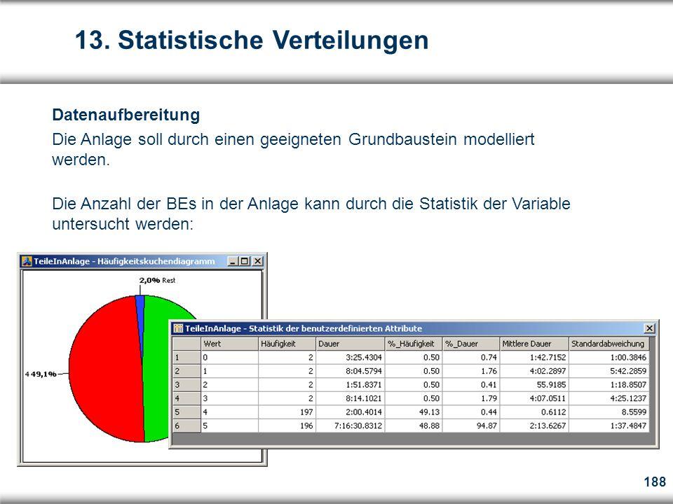 13. Statistische Verteilungen