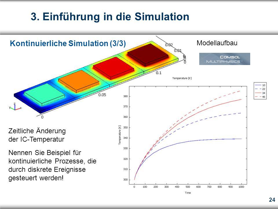 3. Einführung in die Simulation
