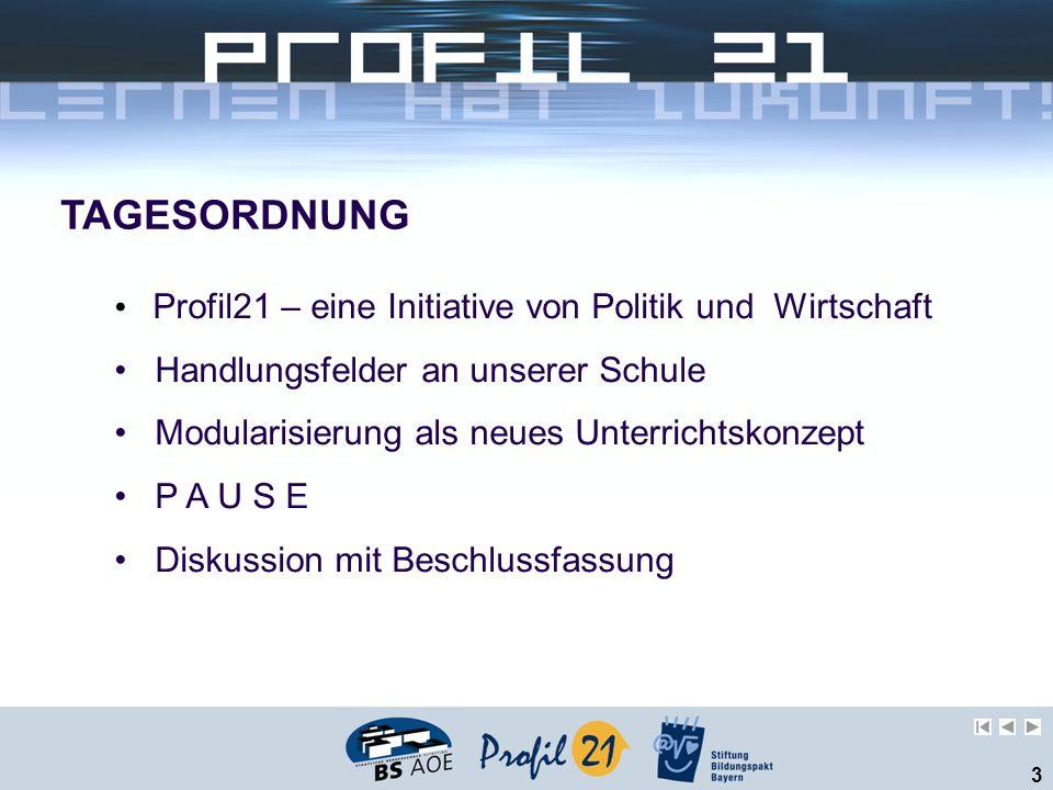Profil21 – eine Initiative von Politik und Wirtschaft