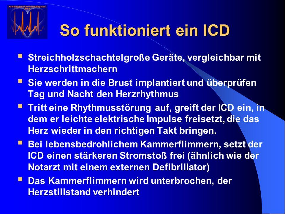 So funktioniert ein ICD