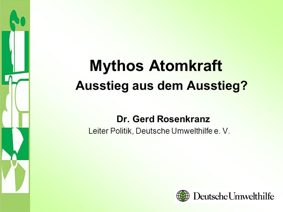 Leiter Politik, Deutsche Umwelthilfe e. V.