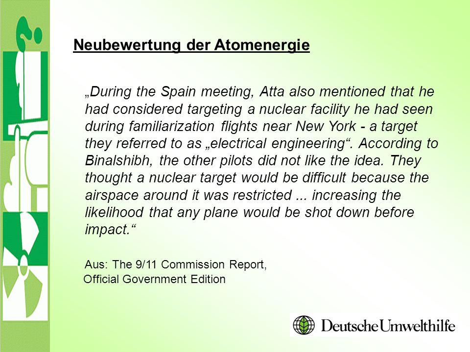 Neubewertung der Atomenergie