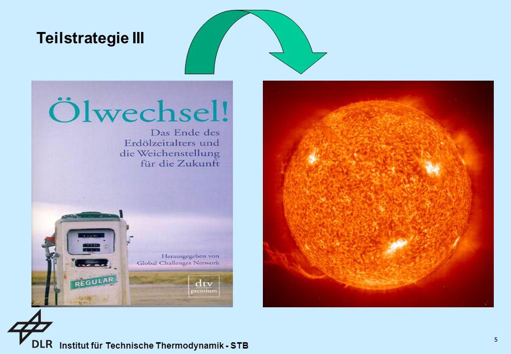 Teilstrategie III Eignung als Hauptenergiequelle: