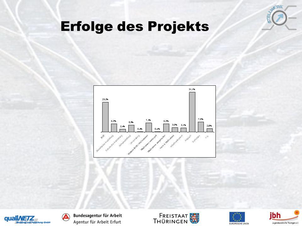 Erfolge des Projekts