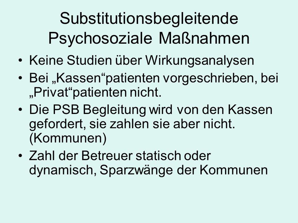 Substitutionsbegleitende Psychosoziale Maßnahmen