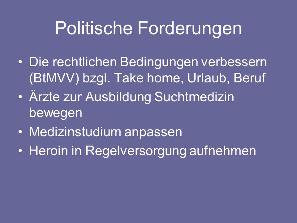 Politische Forderungen