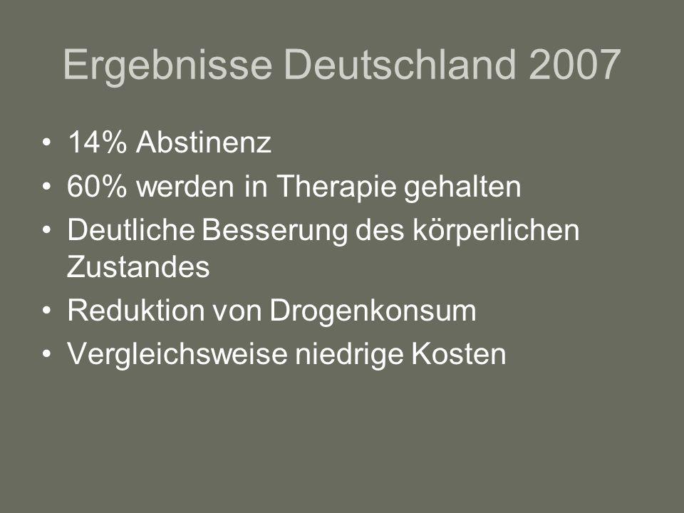 Ergebnisse Deutschland 2007