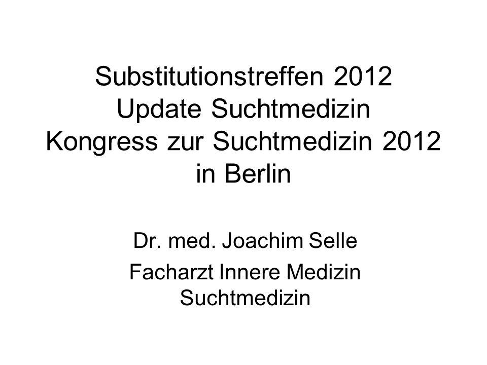 Dr. med. Joachim Selle Facharzt Innere Medizin Suchtmedizin