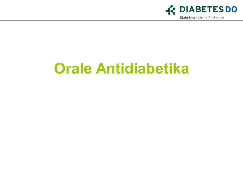 Orale Antidiabetika Was ist gesichert