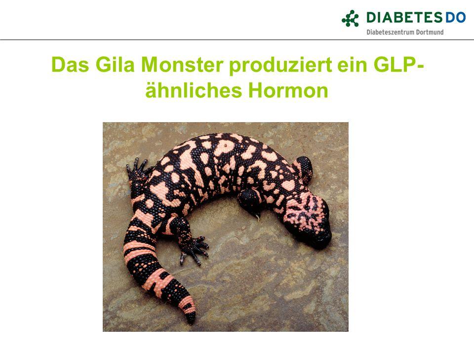 Das Gila Monster produziert ein GLP-ähnliches Hormon