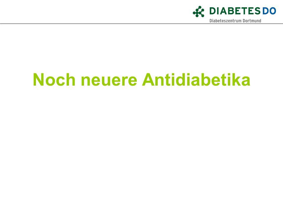 Noch neuere Antidiabetika