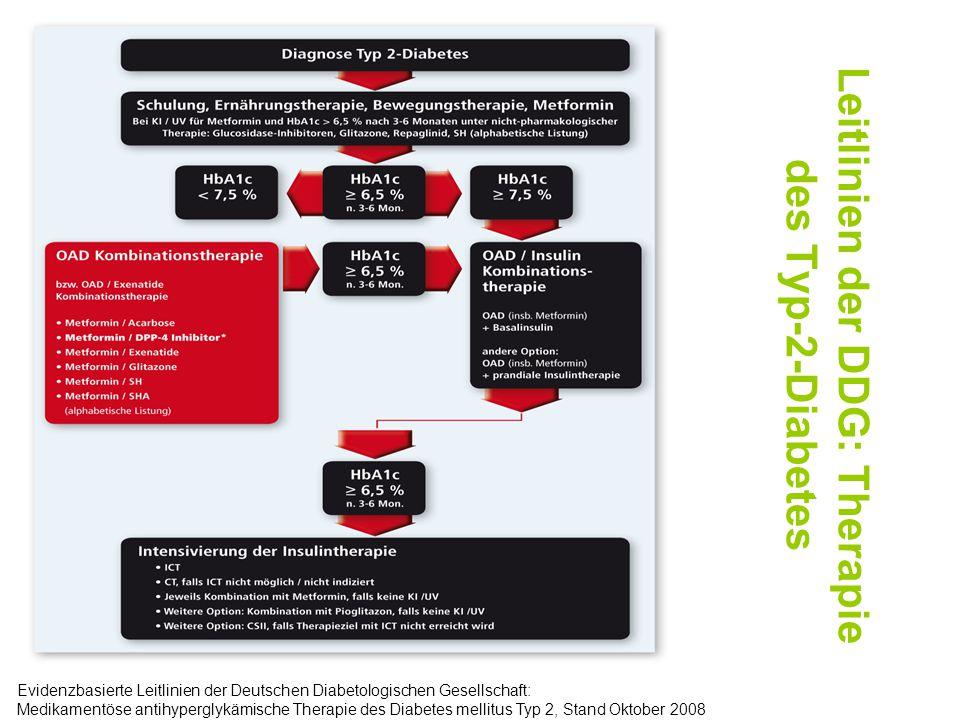 Leitlinien der DDG: Therapie des Typ-2-Diabetes