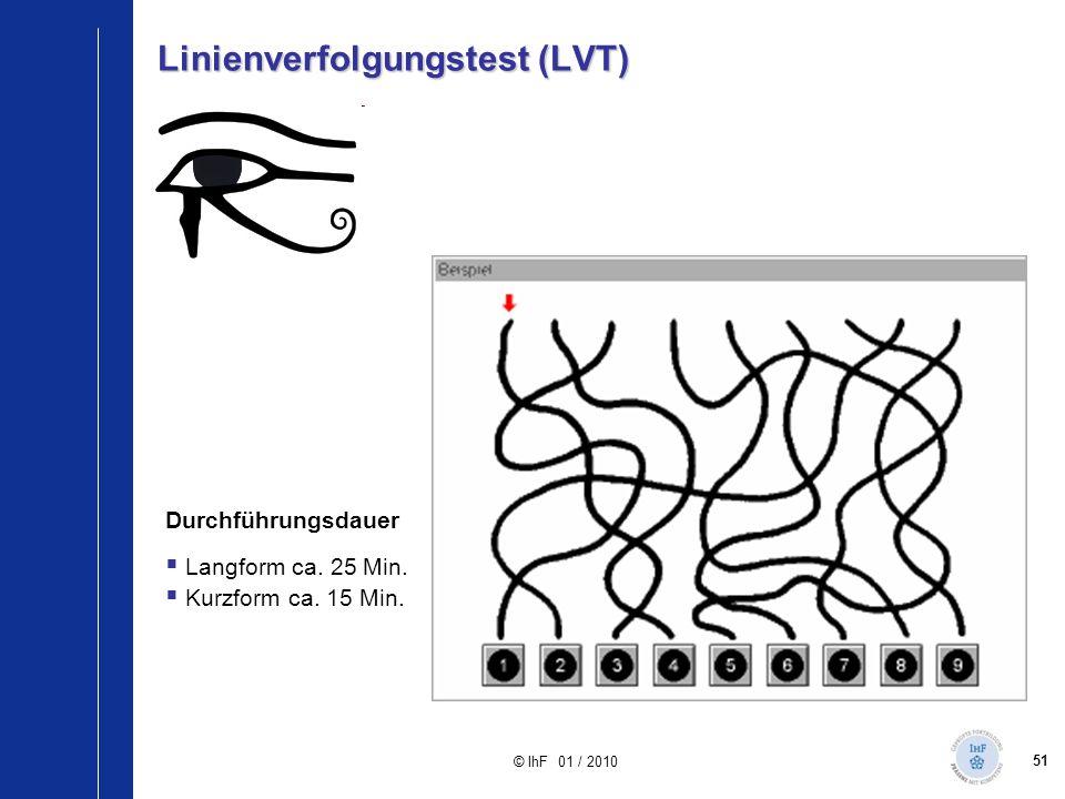Linienverfolgungstest (LVT)