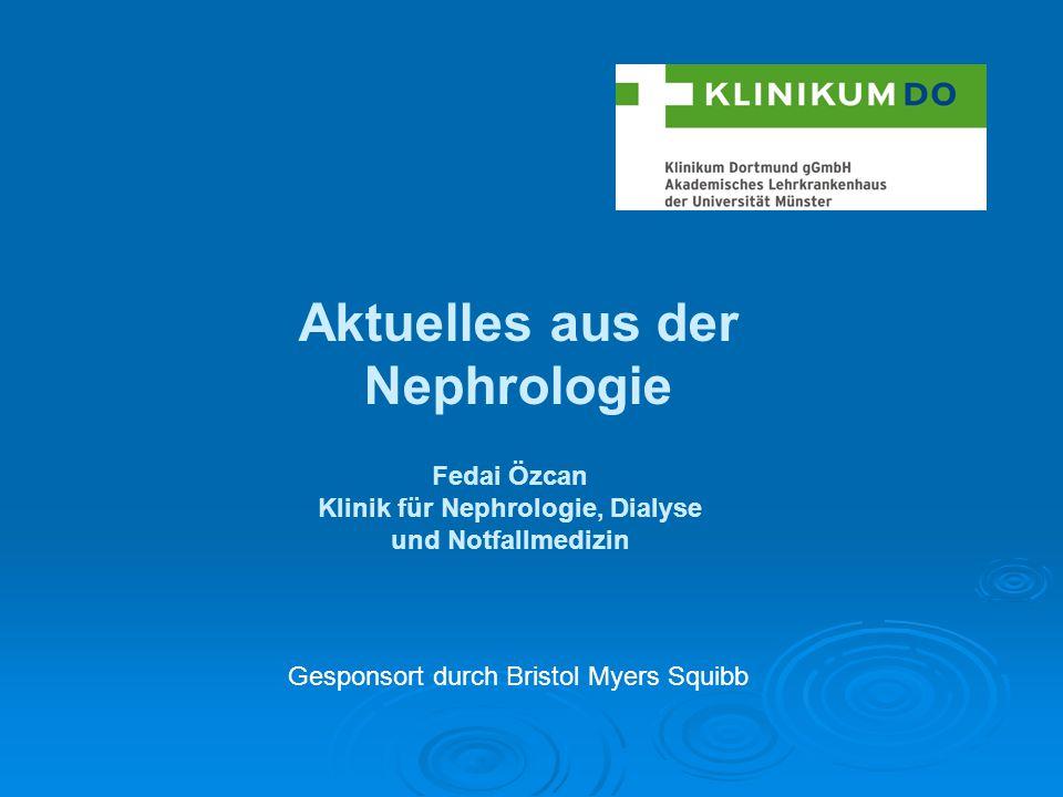 Aktuelles aus der Nephrologie