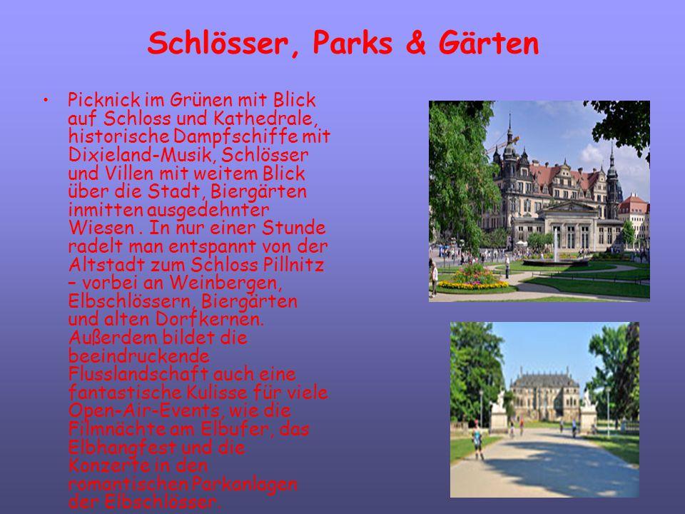 Schlösser, Parks & Gärten