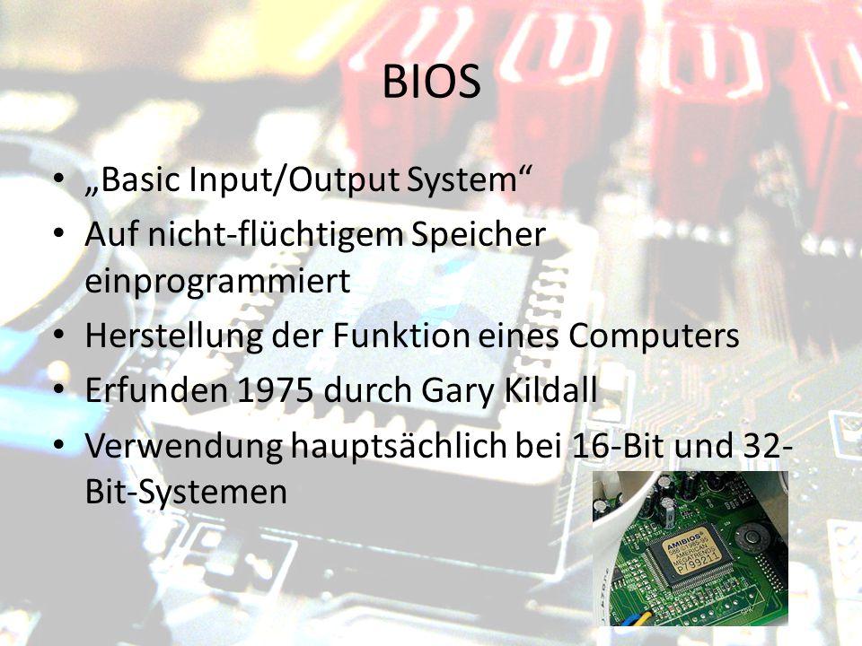 "BIOS ""Basic Input/Output System"