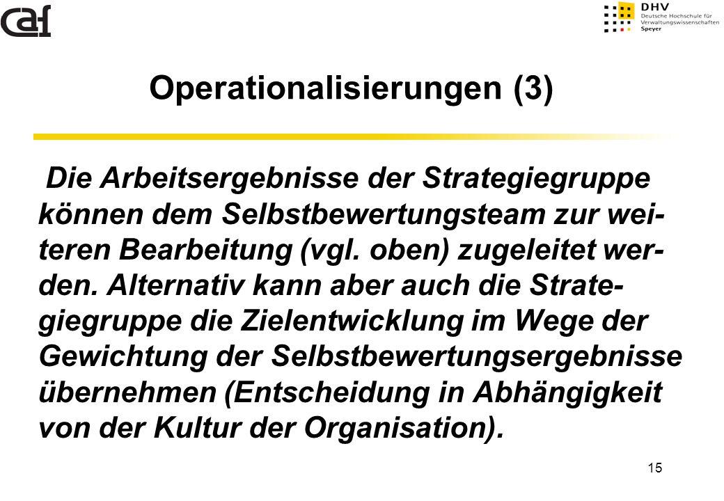 Operationalisierungen (3)