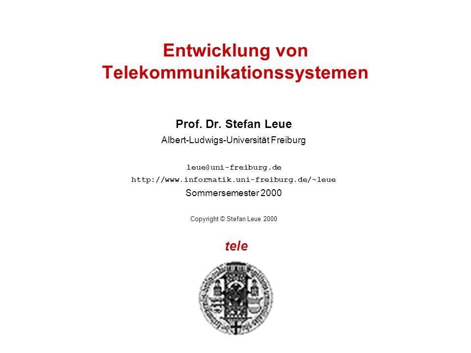 Entwicklung von Telekommunikationssystemen