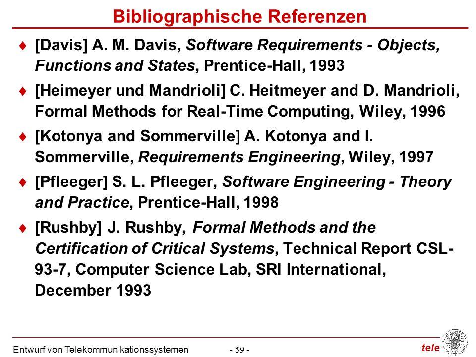 Bibliographische Referenzen