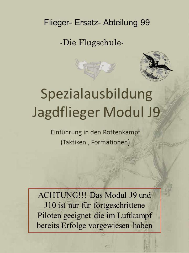 Spezialausbildung Jagdflieger Modul J9