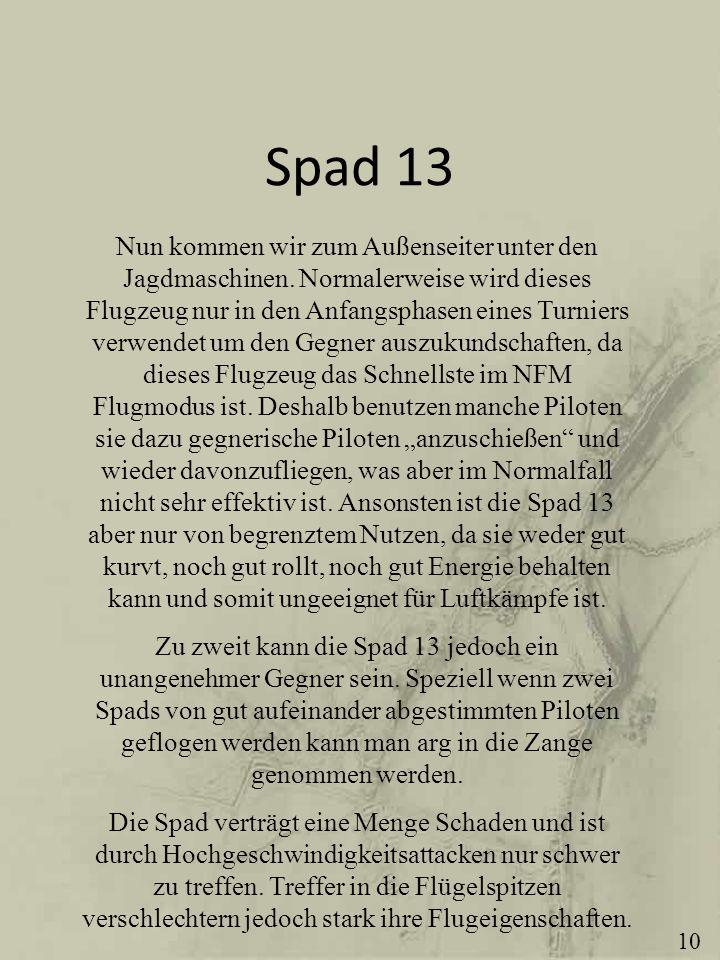 Spad 13