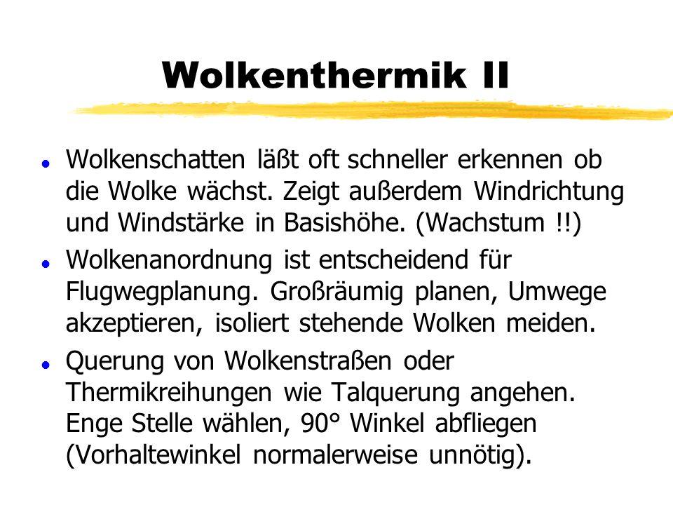 Wolkenthermik II