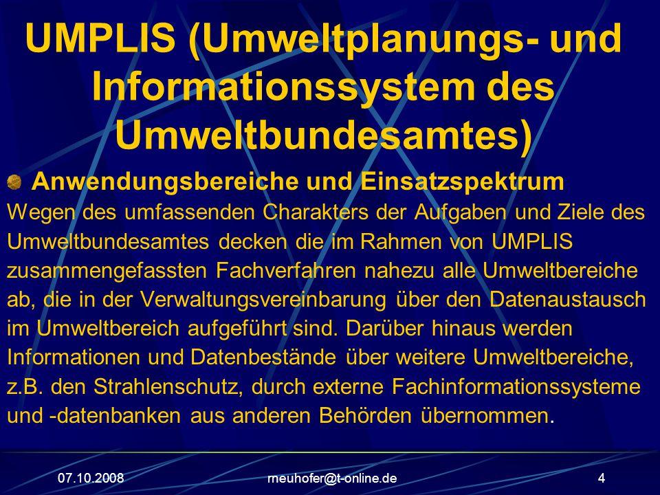 UMPLIS (Umweltplanungs- und Informationssystem des Umweltbundesamtes)