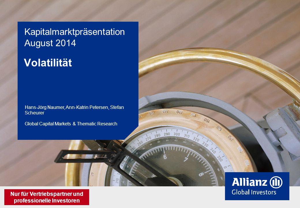 Kapitalmarktpräsentation August 2014