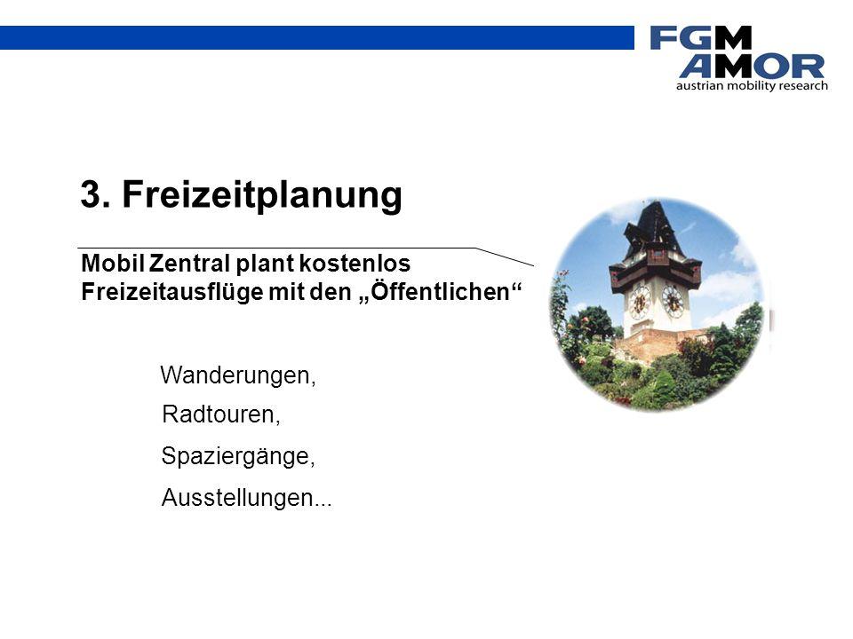 """3. Freizeitplanung Mobil Zentral plant kostenlos Freizeitausflüge mit den """"Öffentlichen Wanderungen,"""