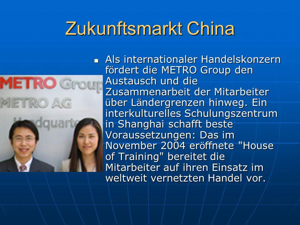 Zukunftsmarkt China