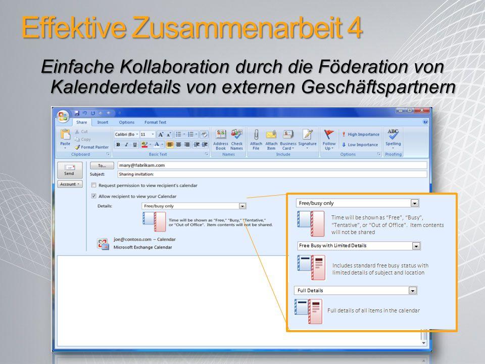 Effektive Zusammenarbeit 4