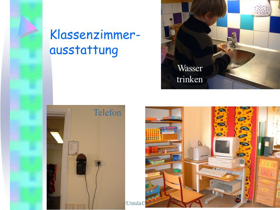 Klassenzimmer- ausstattung