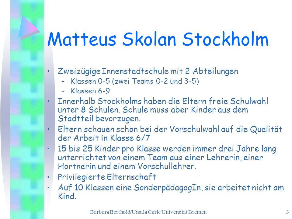 Matteus Skolan Stockholm