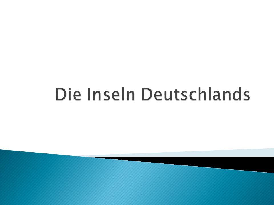 Die Inseln Deutschlands