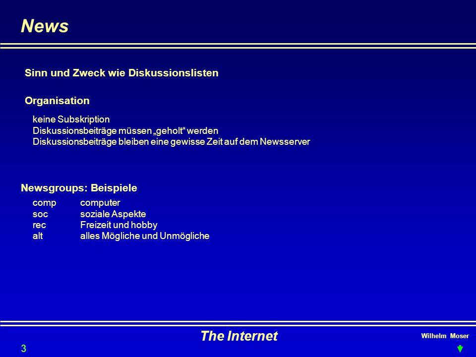 News The Internet Sinn und Zweck wie Diskussionslisten Organisation