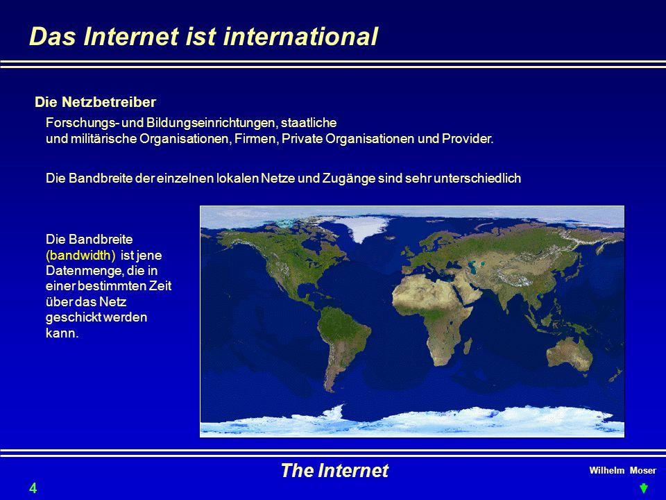 Das Internet ist international