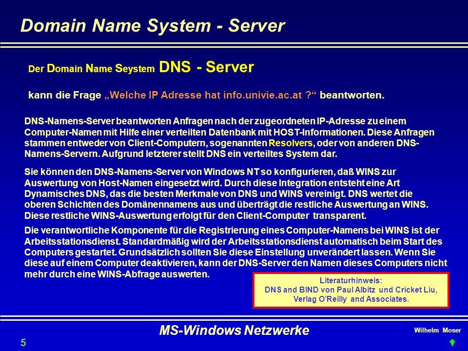 Domain Name System - Server