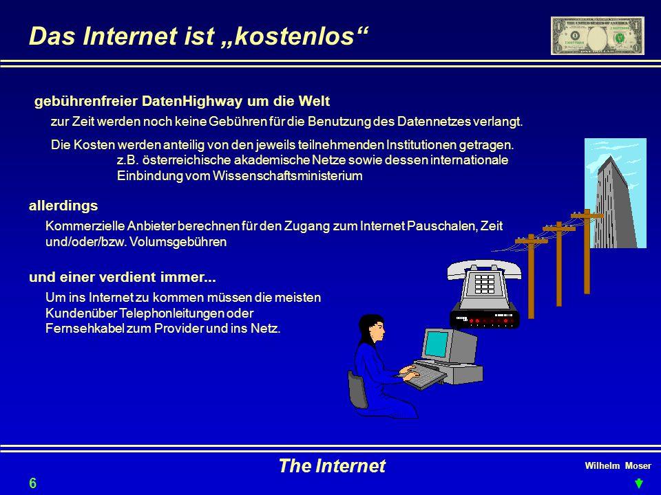 """Das Internet ist """"kostenlos"""