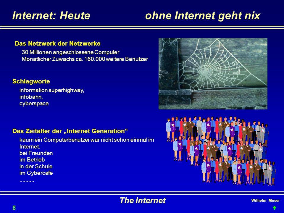 Internet: Heute ohne Internet geht nix