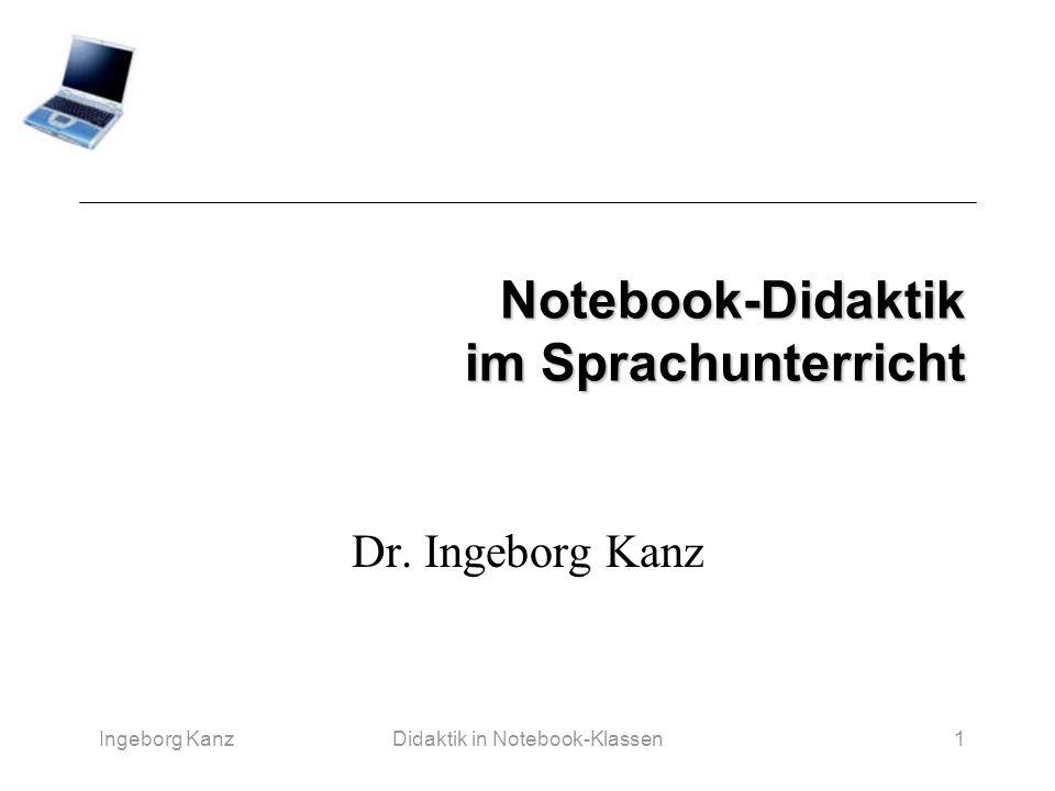 Notebook-Didaktik im Sprachunterricht