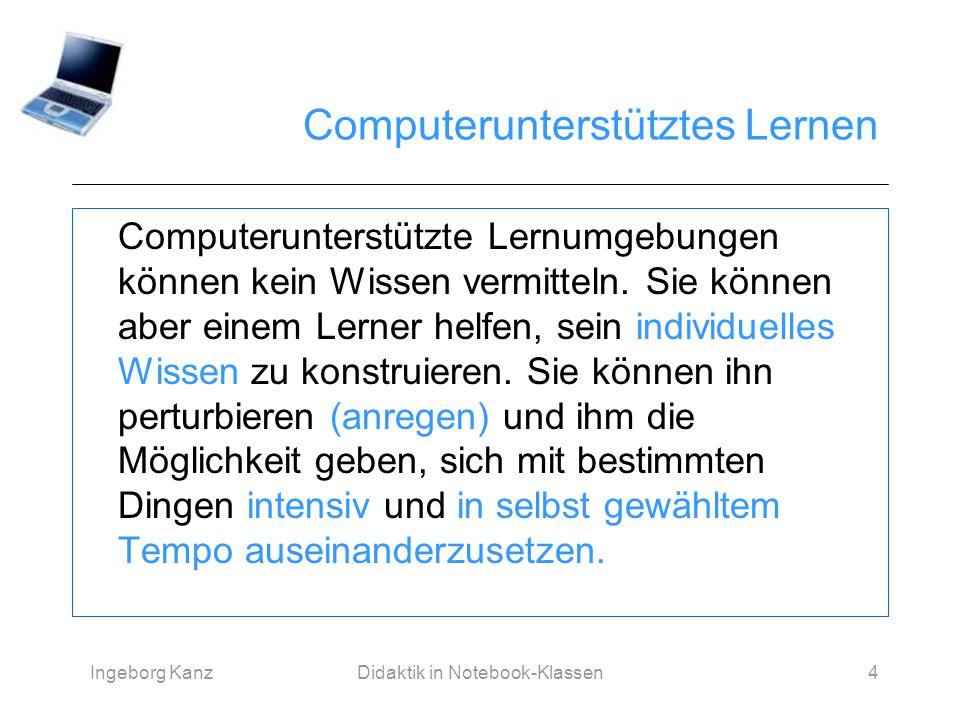 Computerunterstütztes Lernen
