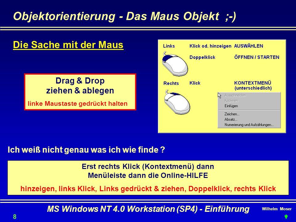 Objektorientierung - Das Maus Objekt ;-)