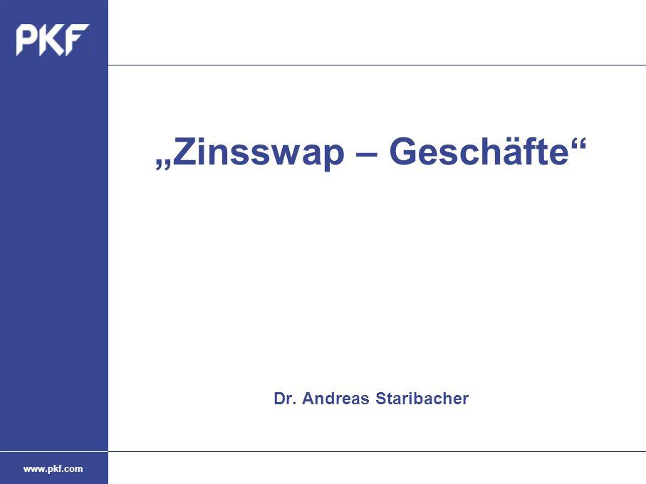 """Zinsswap – Geschäfte Dr. Andreas Staribacher"