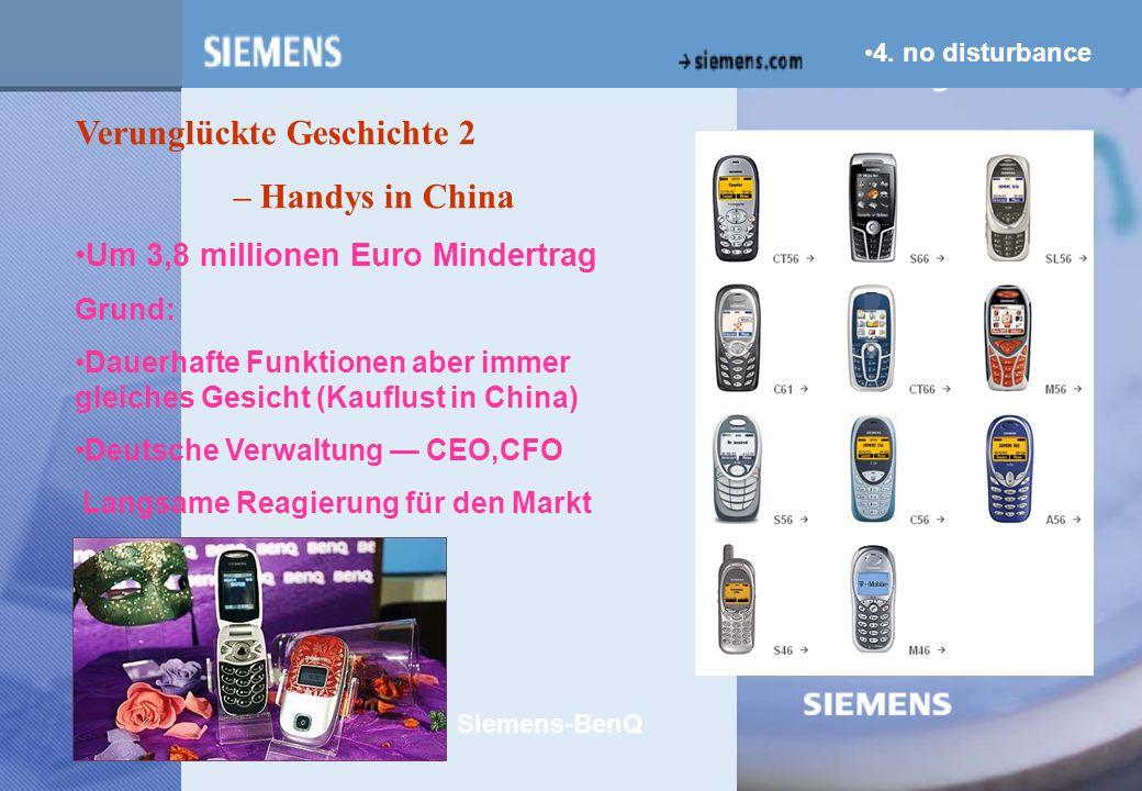 z Verunglückte Geschichte 2 – Handys in China